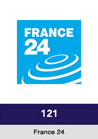 France 24 channel 121