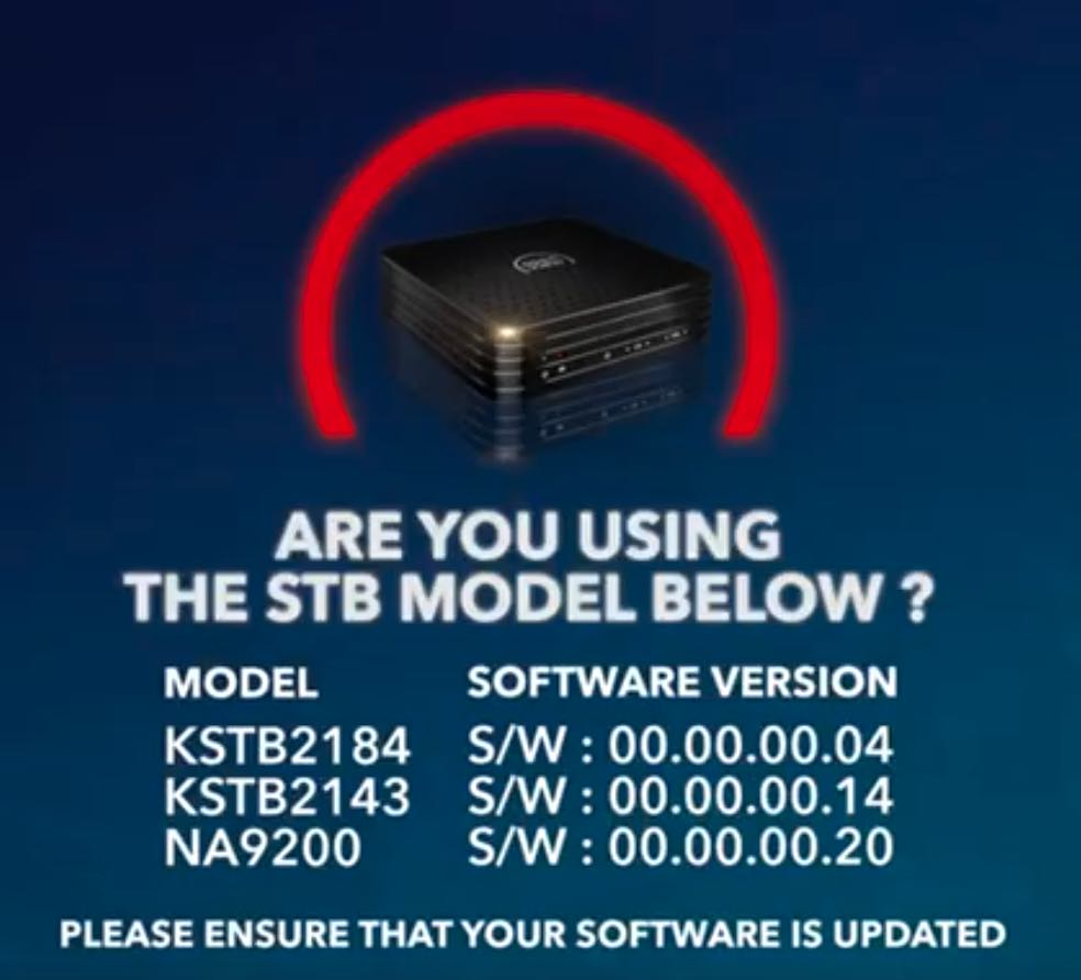 stb model software version