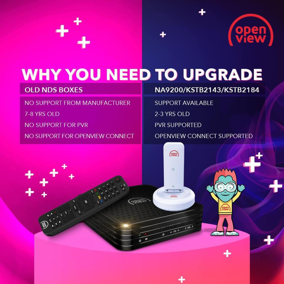 upgrade your old NDS decoder